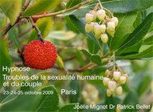 Hypnose: Troubles de la sexualité humaine et du couple. Joëlle Mignot & Dr Patrick Bellet. Formation Institut Milton Erickson Avignon