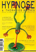 Psychothérapie et hypnose avec des victimes de la torture.