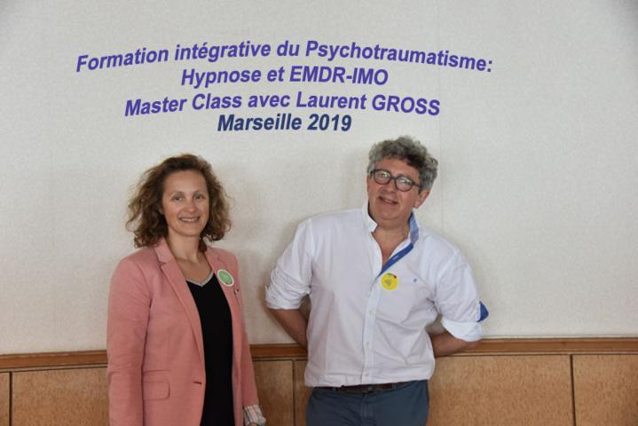 Master Class Laurence ADJADJ - Laurent GROSS à Marseille, en EMDR - IMO et Hypnose Thérapeutique