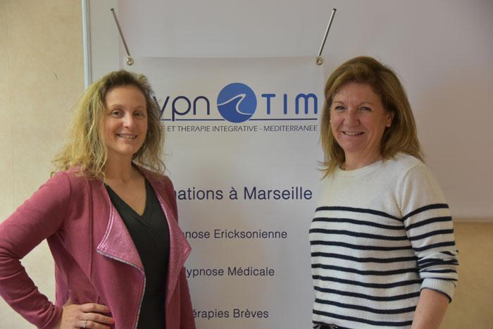 Laurence ADJADJ et Laurence PELLET, Formation Hypnose, EMDR - IMO à Marseille