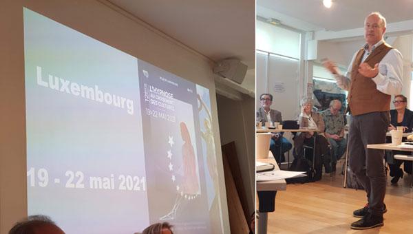 12ème forum de la CFHTB Confédération Francophone d'Hypnose et Thérapies Brèves à Luxembourg