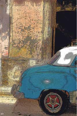 Voiture de Cuba (La Havane). © Serge Nouchi