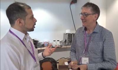 Interview du Dr Claude Virot au Congrès Mondial d'Hypnose de Paris 2015