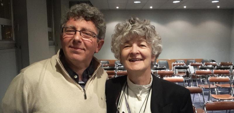 Christine GUILLOUX SFH et Laurent GROSS, CHTIP Président du Collège d'Hypnose & Thérapies Intégratives de Paris