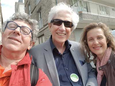 Laurent GROSS, Gaston BROSSEAU et Laurence ADJADJ