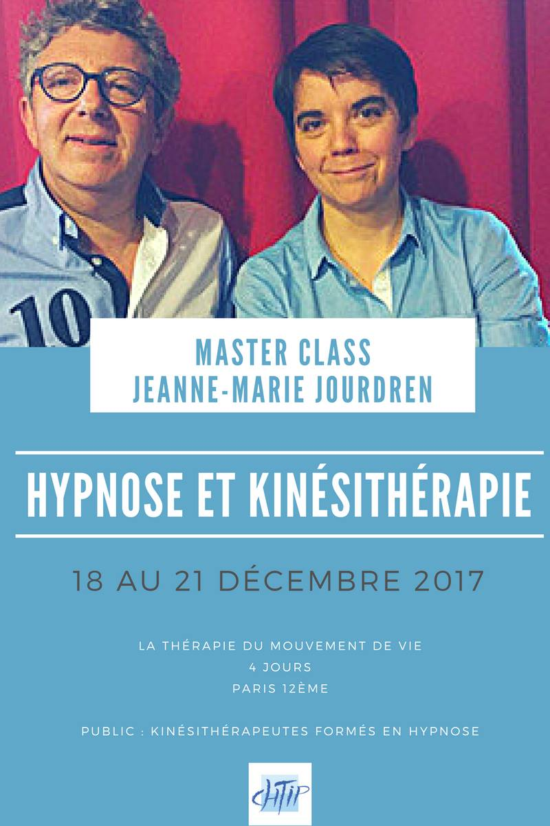Master Class Hypnose et Kinésithérapie