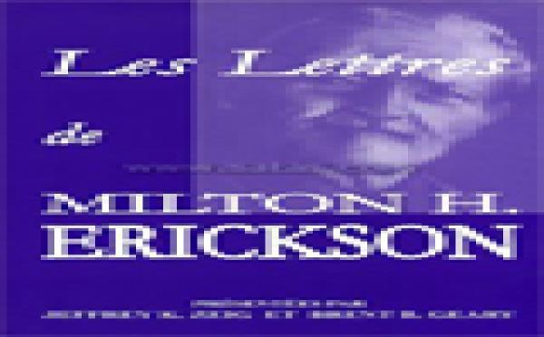 Les lettres de Milton H. Erickson