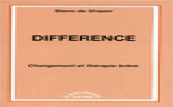 Différence. Changement et thérapie brève.
