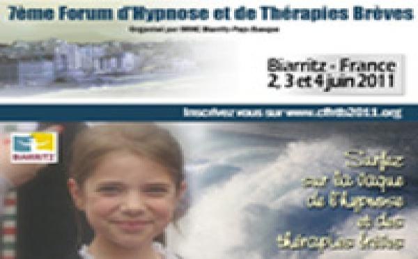 Hypnose Thérapie Brève - Forum Biarritz Juin 2011